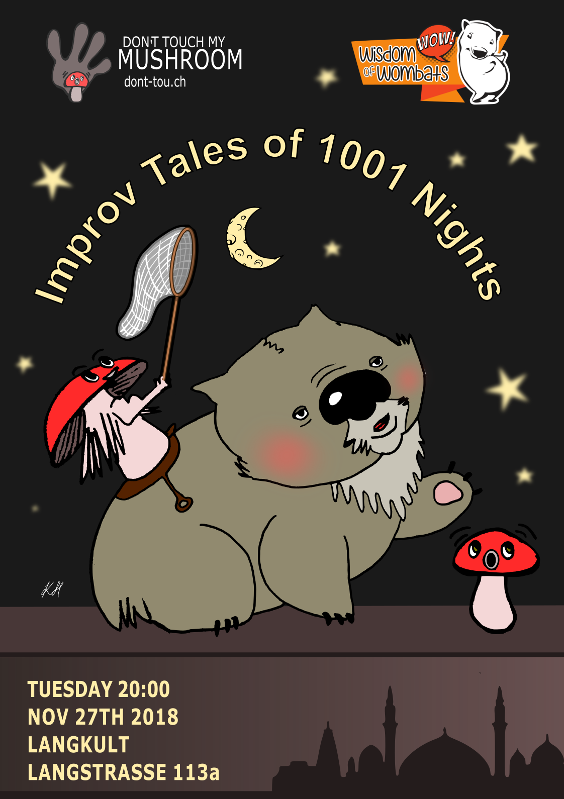 Improv Tales of 1001 Night